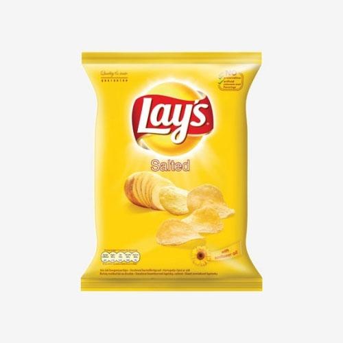 Lays Chipsy - Solené smažené zemiakové lupienky 140g