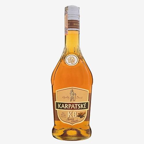 Karpatské brandy KB 36% škorica klinček - 700 ml