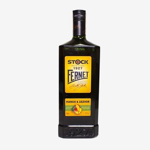 Fernet Stock Mango a Zázvor 27% - 1000 ml
