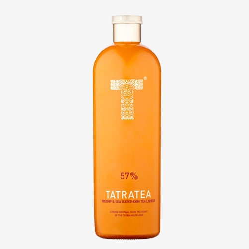 Karloff Tatratea/Tatranský čaj rosehip&sea buckthorn tea 27% - 700 ml