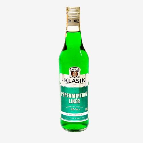 St. Nicolaus Klasik Pepermintový likér 25% - 500 ml