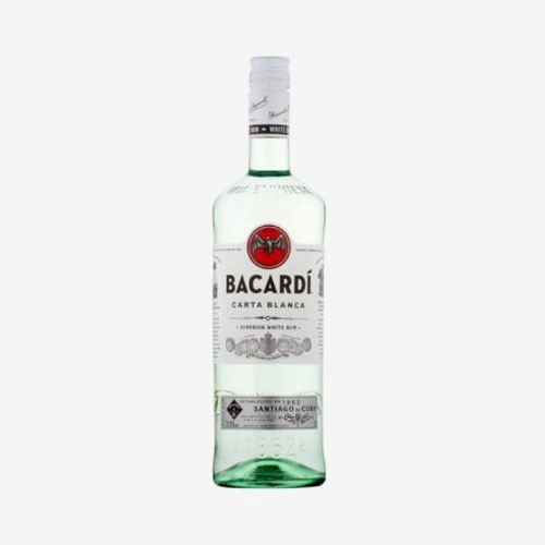 Bacardi Carta Blanca 37,5% - 700 ml