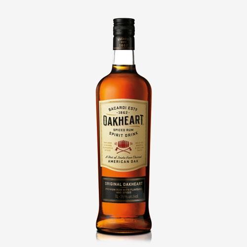 Bacardi Oakheart 35% - 1000 ml