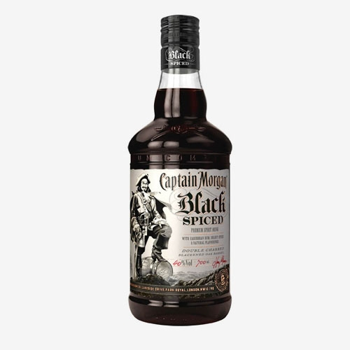 Captain Morgan Black Spiced 40% - 700 ml