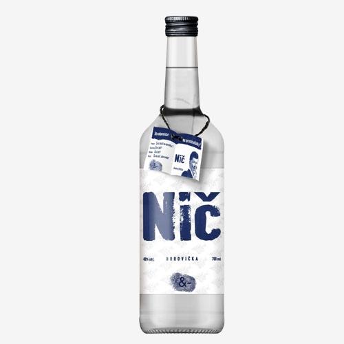 Borovička Nič 40% - 700 ml