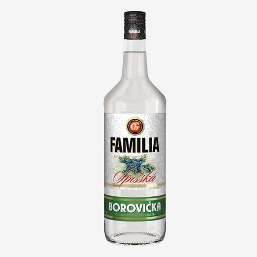 GAS Familia borovička 40% - 1000 ml