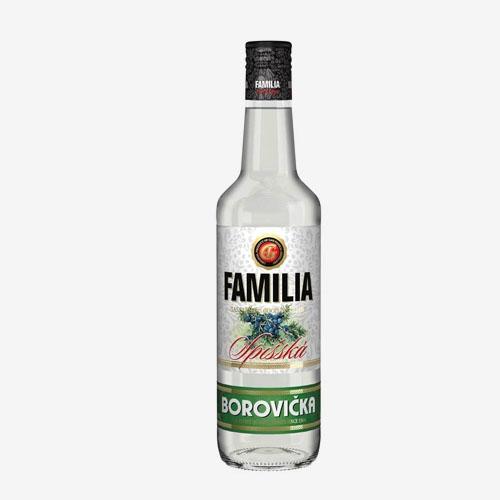 GAS Familia borovička 40% - 500 ml