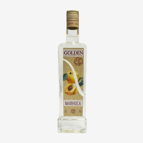 Golden Marhuľa 38% - 500 ml
