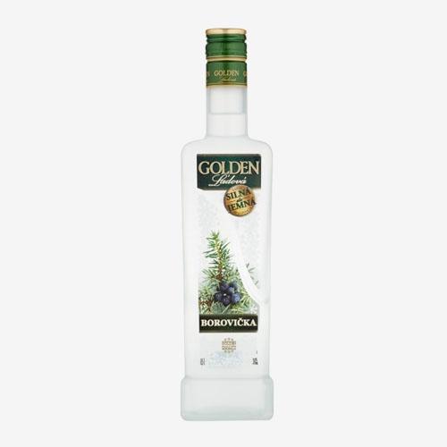Imperator Golden ľadová Borovička 38% - 500 ml