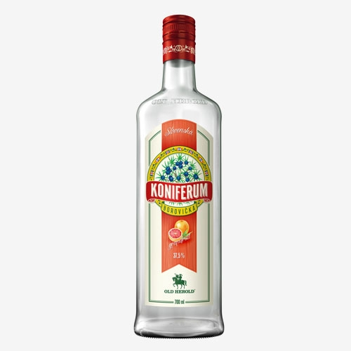 Old Herold Koniferum borovička grapefruit 37,5% - 700 ml