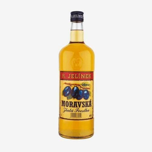 Rudolf Jelínek Moravská slivka zlatá 40% - 1000 ml