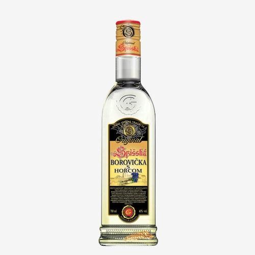 Spišská Borovička s horcom 40 % - 700 ml