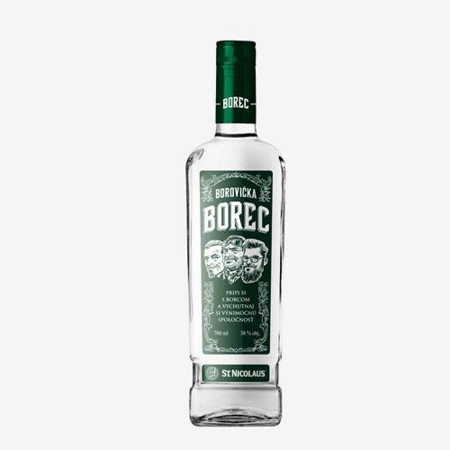 St. Nicolaus Borec borovička 38% - 700 ml