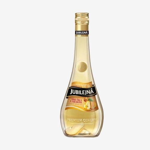 St. Nicolaus Jubilejná hruška s medom 30% - 700 ml