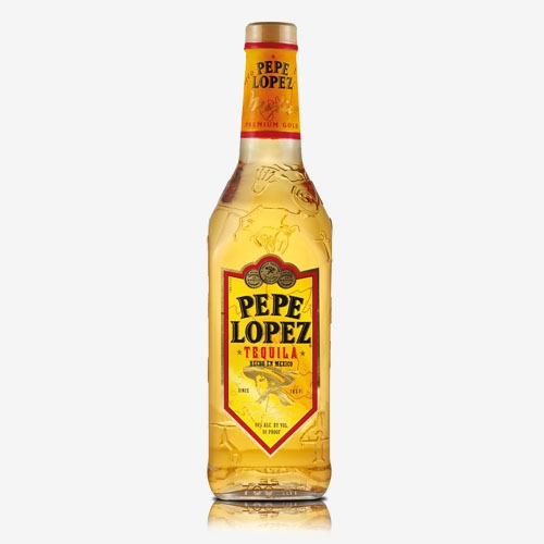 Pepe lopez tequila gold 40% - 700 ml