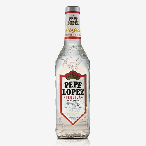 Pepe lopez tequila silver 40% - 700 ml