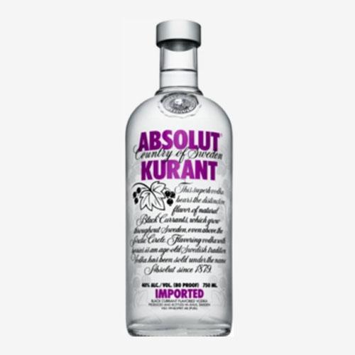 Absolut vodka Kurant/čierna ríbezľa 40% - 700 ml