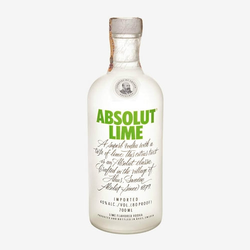 Absolut vodka Lime/limetka 40% - 700 ml