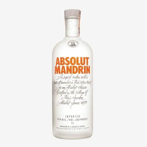 Absolut vodka Mandarin/mandarínka 40% - 700 ml