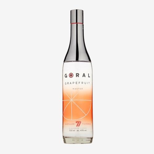 Goral vodka master grapefruit 40%