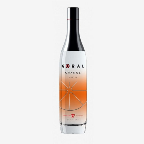 Goral vodka master orange 40%