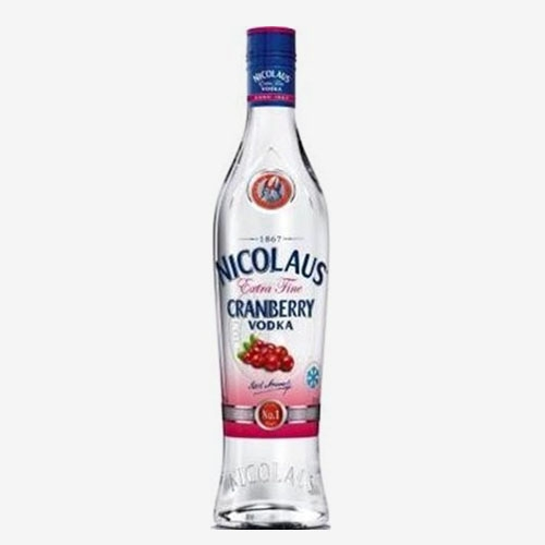 St. Nicolaus Vodka Extra Fine cranberry/brusnica 38 % - 700 ml