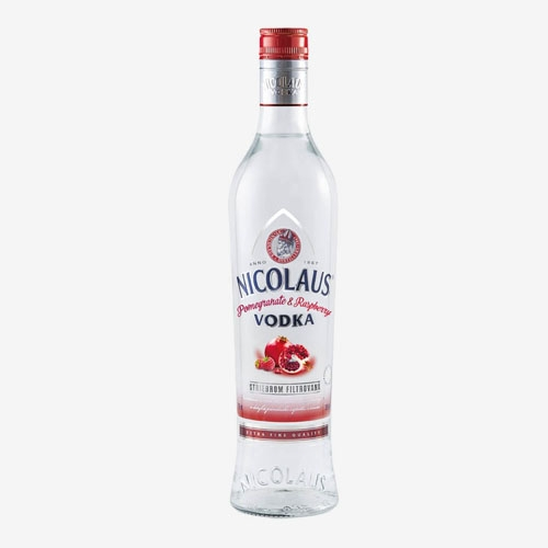 St. Nicolaus Vodka Pomegranate a raspberry 38%