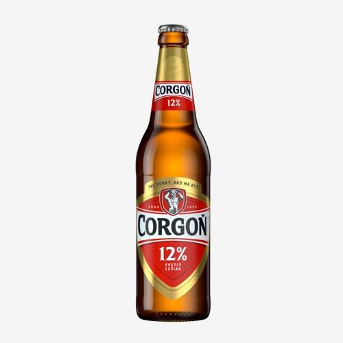 Corgoň pivo 12% - sklo 500 ml