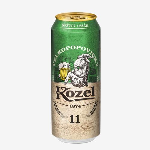 Velkopopovický Kozel pivo 11% - 500 ml