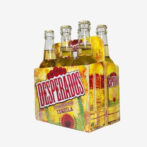 Desperados pivo s príchuťou tequila - sklo 330 ml