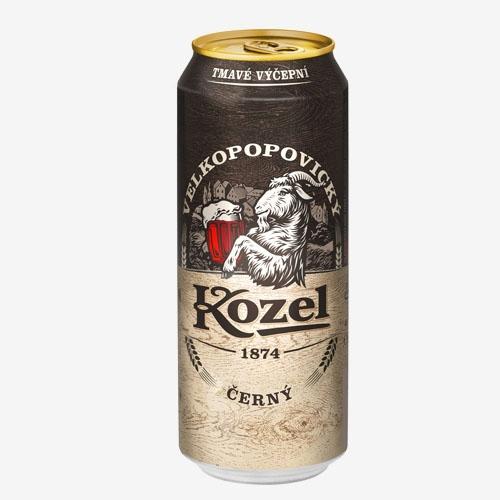 Velkopopovický Kozel pivo tmavé - 500 ml