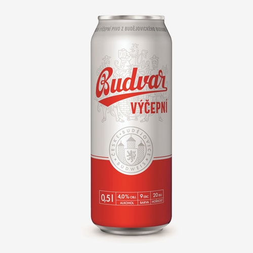 Budvar pivo 10% - 500 ml