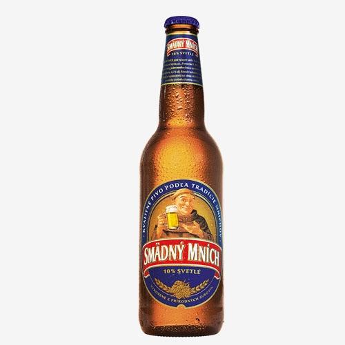 Smädný mních pivo 10% - sklo 500 ml