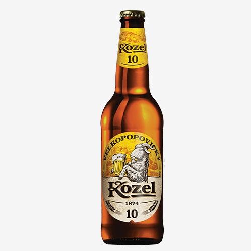 Velkopopovický Kozel pivo 10% - sklo 500 ml