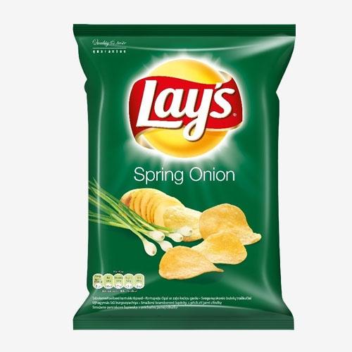Lays Chipsy jarná cibuľka smažené zemiakové lupienky 70g