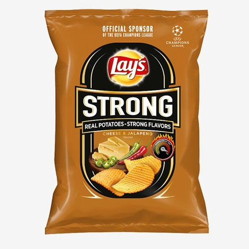 Lays Strong Cheese & Jalapeno 65g