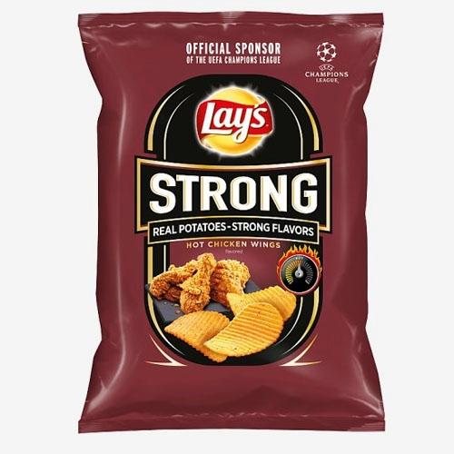 Lays Strong Hot Chicken Wings 65g