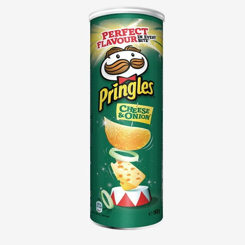 Pringles Cheese&onion chips 165g