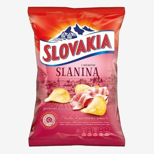 Slovakia Chips gazdovská slanina 70g