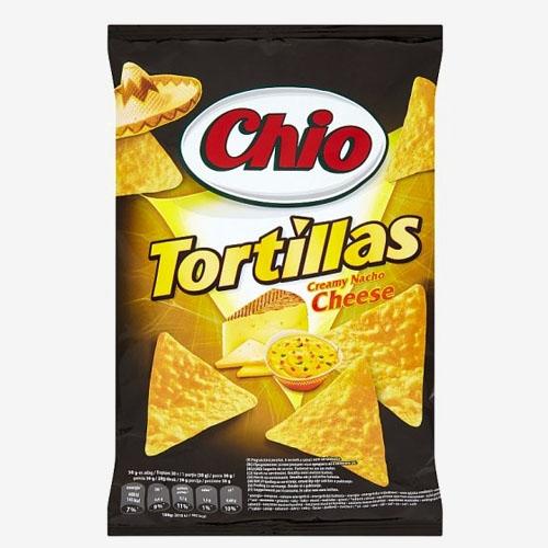 Intersnack Chio Tortillas nachos syr 125g