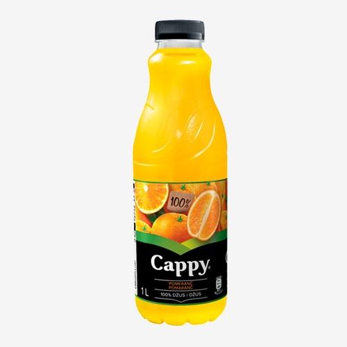 Cappy džús pomaranč 100% 1L PET