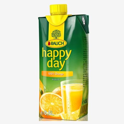 Happy Day Pomaranč 100% džús 500 ml