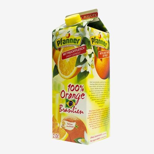 Pfanner džús brazílsky pomaranč 2L