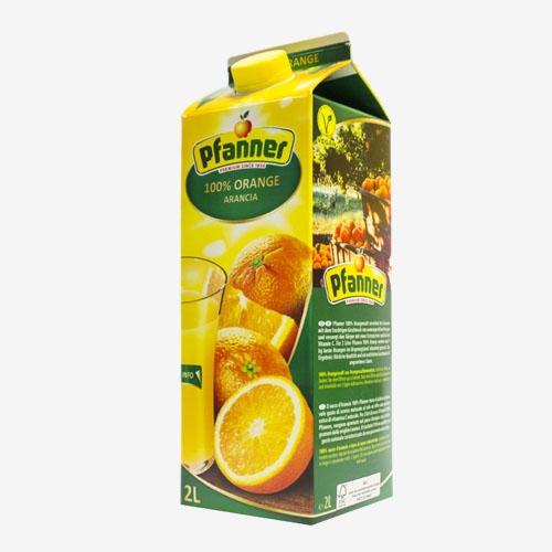 Pfanner džús pomaranč 100% 2L