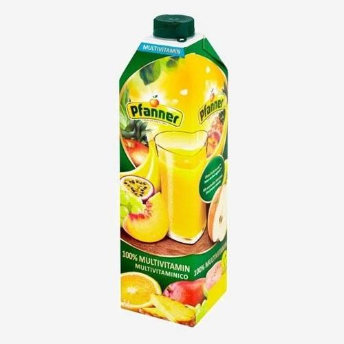 Pfanner džús multivitamín 100% 1L