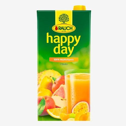 Rauch Happy Day džús multivitamín 100% 2L
