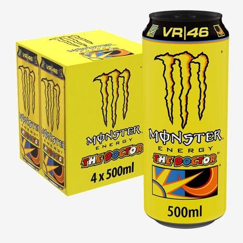 Monster Energy Ultra sýtený energetický nápoj 4x 500 ml