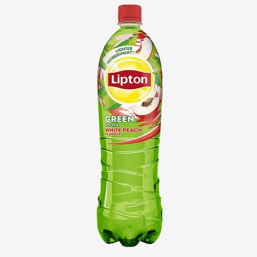 Lipton Green Tea White Peach ľadový čaj 1,5 l