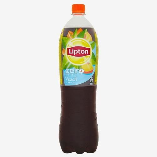 Lipton Ice Tea Black Peach Zero 1,5 l