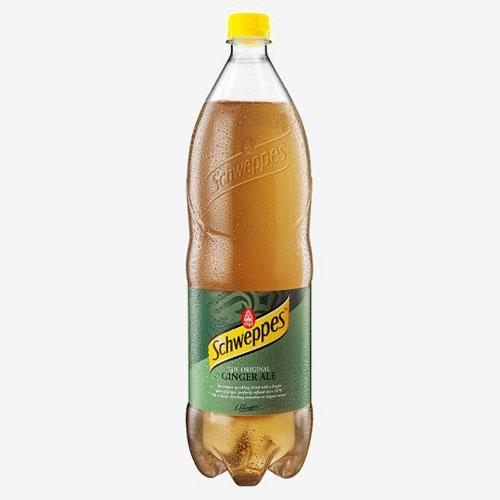 Schweppes ginger ale limonáda 1,5 l